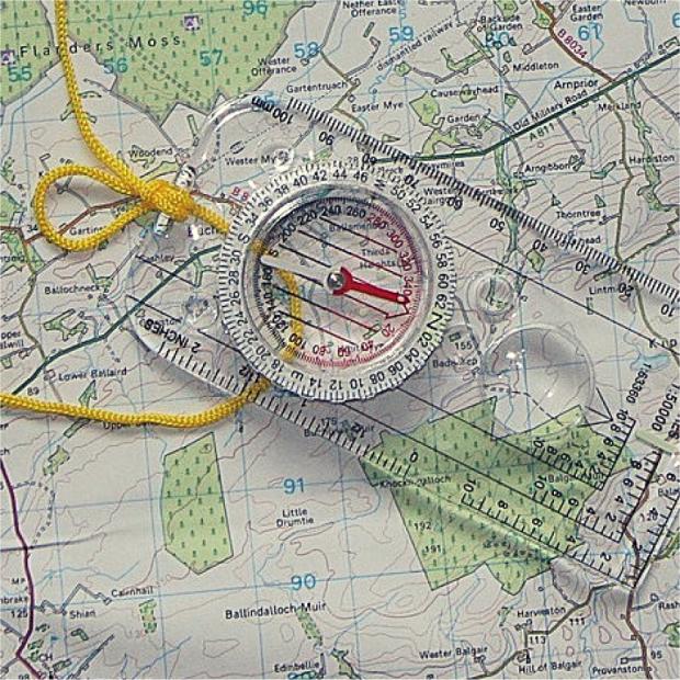 En dag med kompas