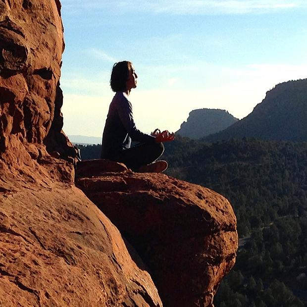 Yoga/mindfulness hold