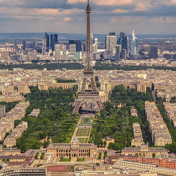 Fransk hold. Billede af Paris
